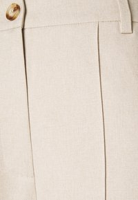 NA-KD Tall - WIDE SUIT PANTS - Trousers - beige - 2