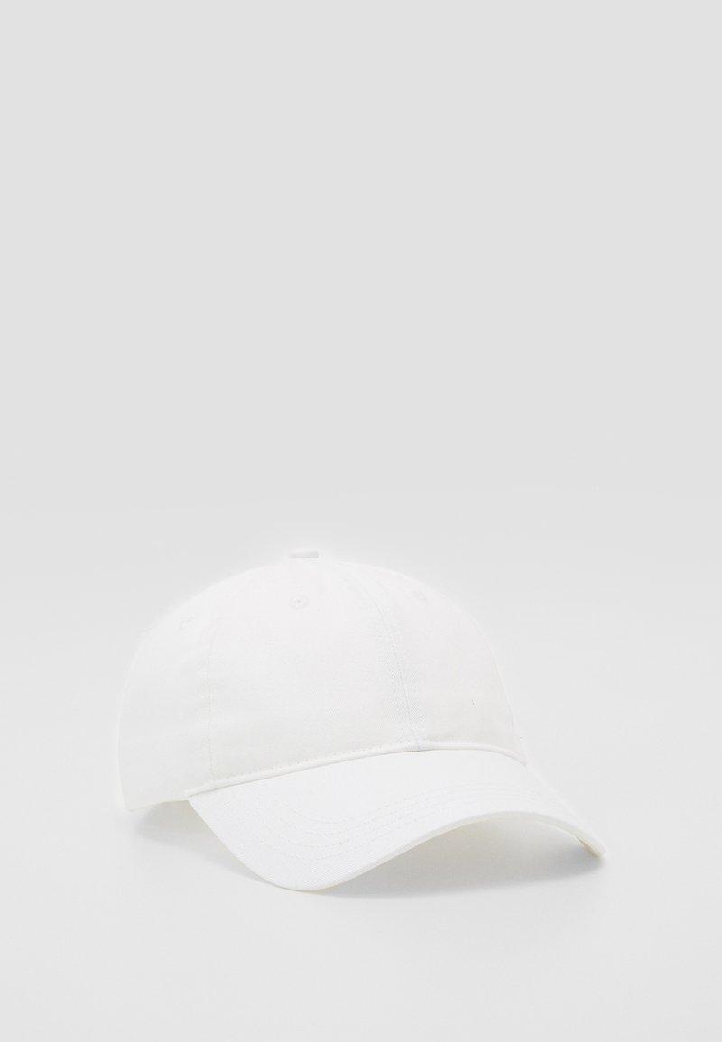 Samsøe Samsøe - ARIBO UNISEX - Kšiltovka - white