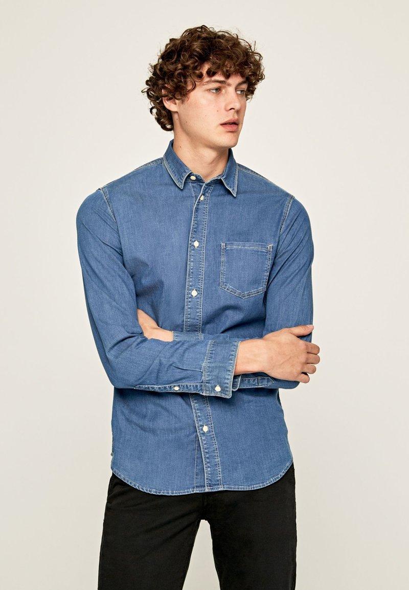 Pepe Jeans - PORTLAND - Hemd - blue denim