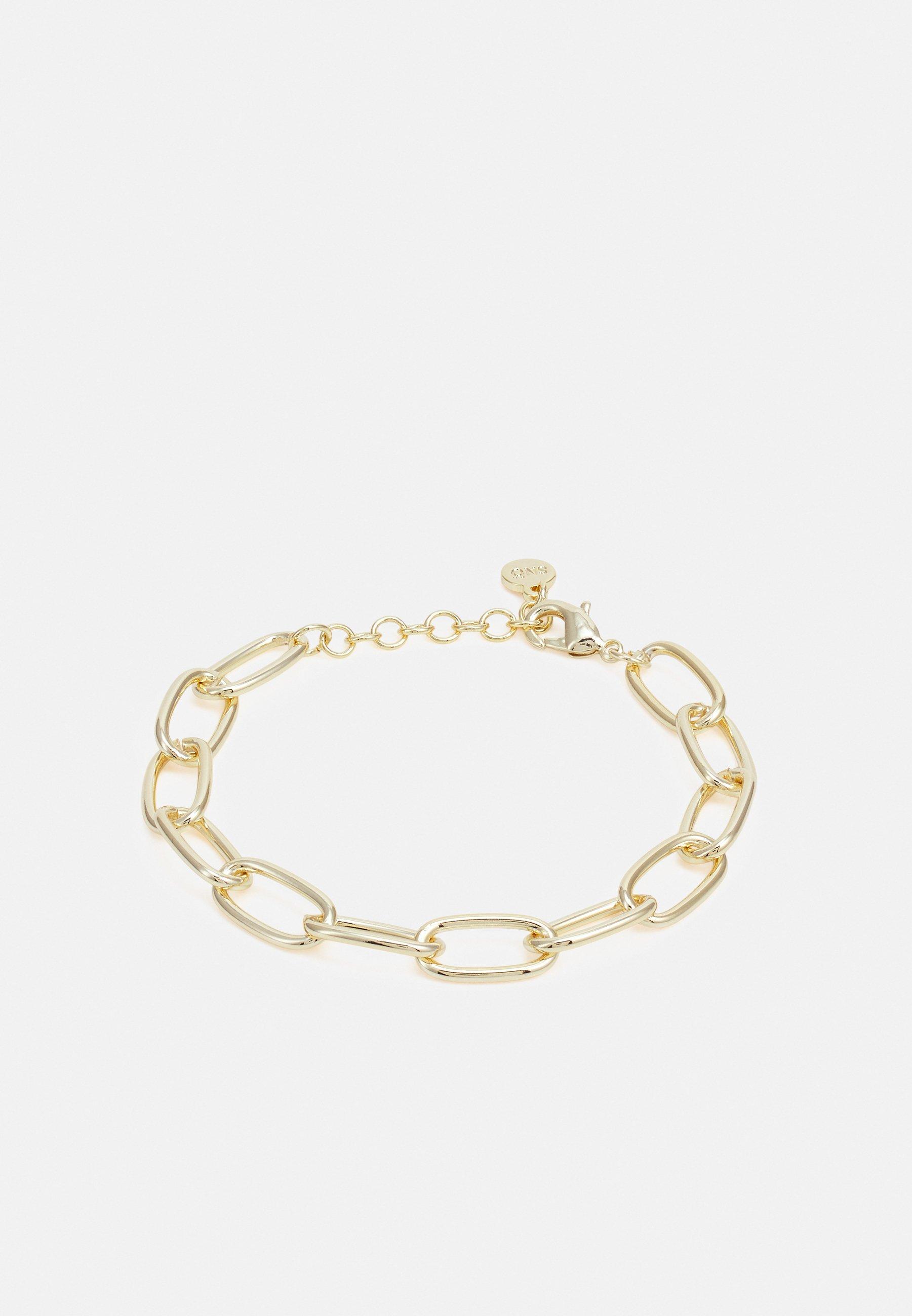 Femme BLANCHE BIG CHAIN BRACE PLAIN - Bracelet