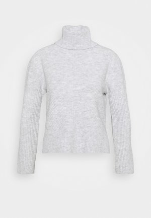 FUNNEL NECK JUMPER - Jersey de punto - grey