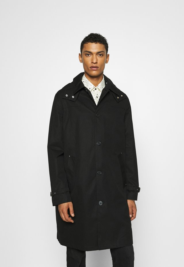 MANTEAU - Trenchcoat - black