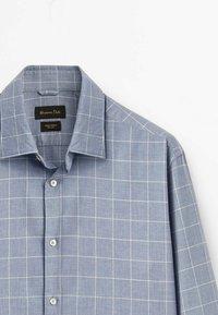 Massimo Dutti - SLIM FIT - Shirt - light blue - 3