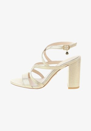 MACERE - High heeled sandals - silber