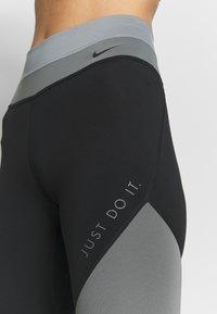 Nike Performance - ONE - Punčochy - smoke grey/black/particle grey - 4