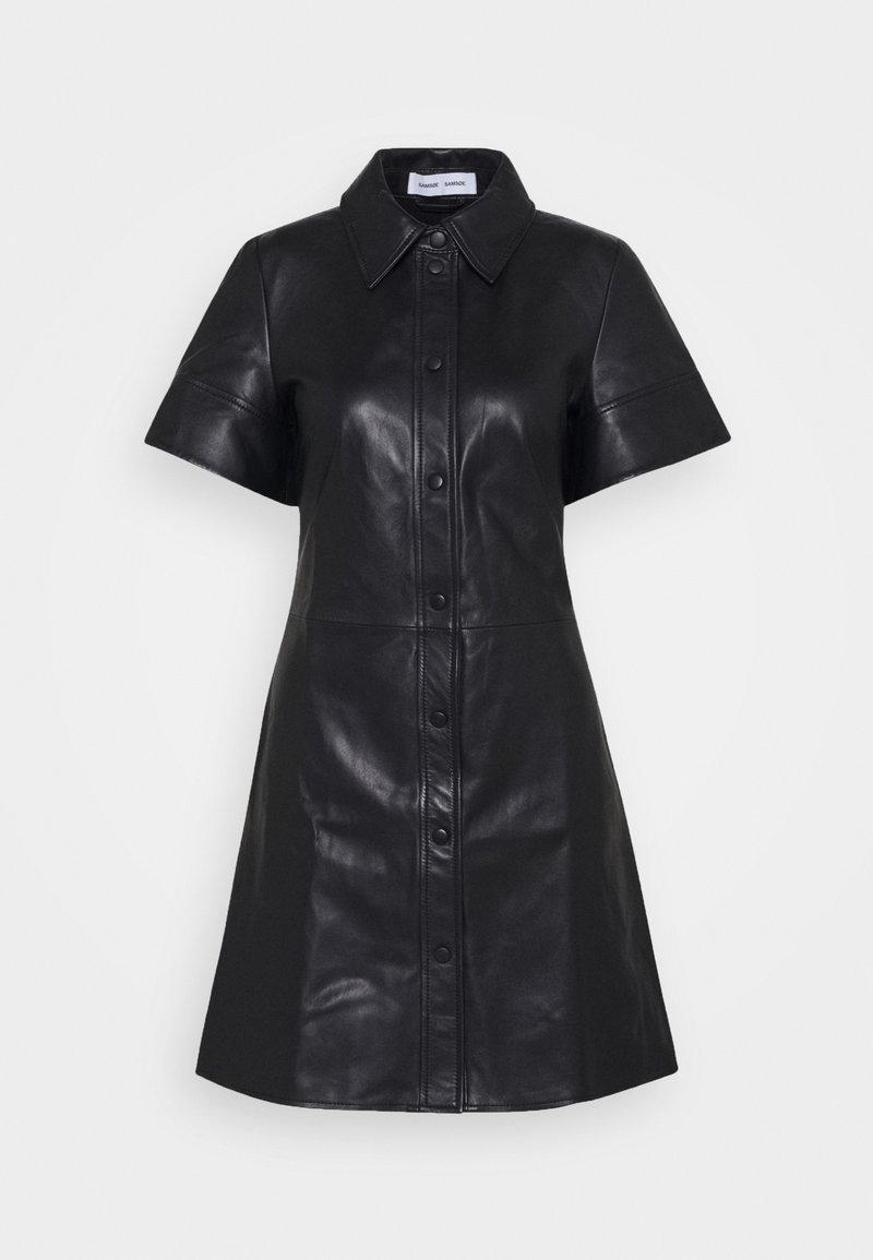 Samsøe Samsøe - SHEREEN - Shirt dress - black