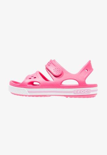 CROCBAND II - Pool slides - paradise pink/carnation