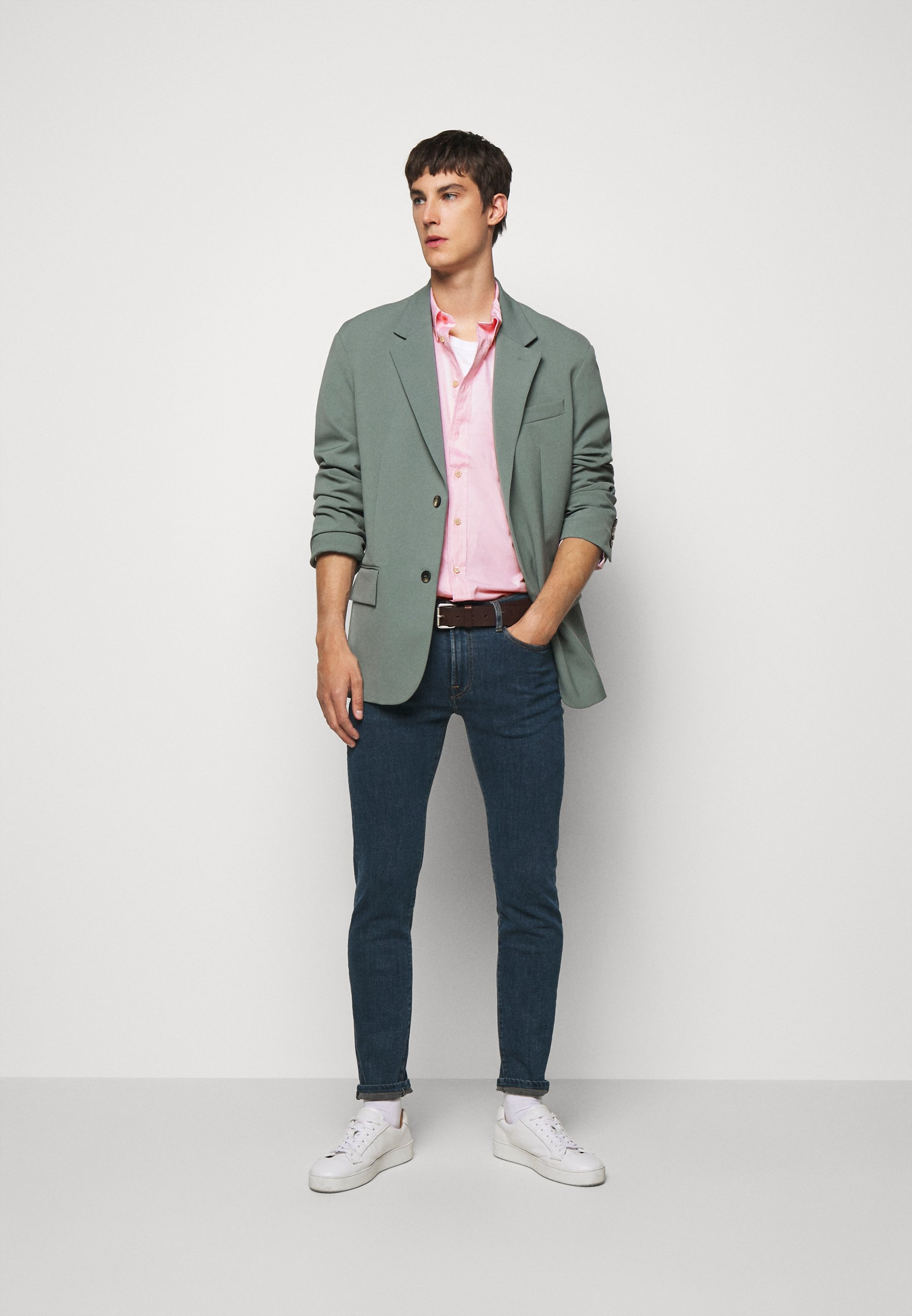 Ps Paul Smith Mens Tailored Shirt - Hemd Beige