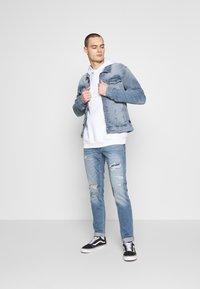 Hollister Co. - Jeans Skinny Fit - dark blue denim - 1