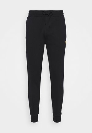 WITH CONTRAST PIPING - Pantaloni sportivi - true black
