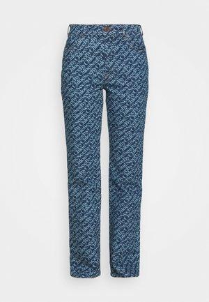 Straight leg jeans - deep ocean