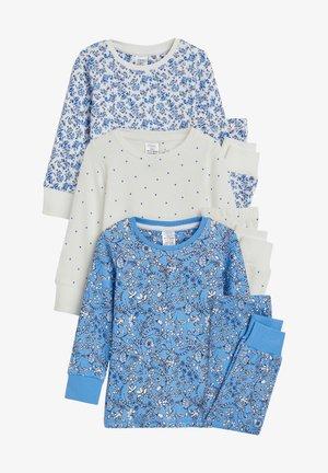 3 PACK - Pyjama set - blue