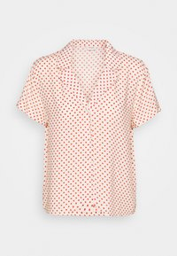 JDY - STARR LIFE - Button-down blouse - sandshell/etruscan red - 0