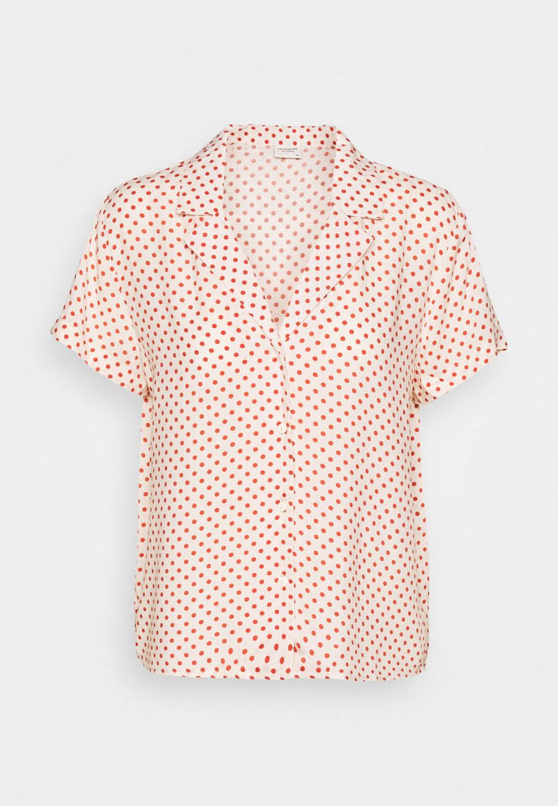 JDY - STARR LIFE - Button-down blouse - sandshell/etruscan red