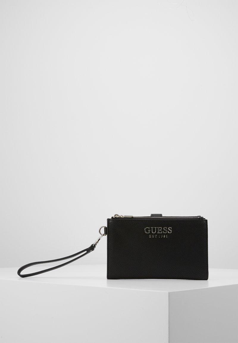 Guess - ZIP ORGANIZER - Lommebok - black
