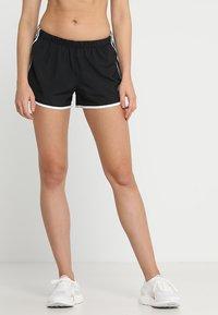 adidas Performance - SHORT - Sports shorts - black/white - 0