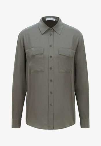 BIVENTI - Button-down blouse - dark green
