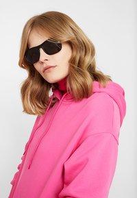 Calvin Klein Jeans - Sunglasses - matte black - 3