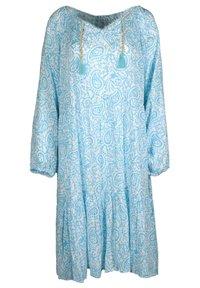 Zwillingsherz - Day dress - türkis - 0