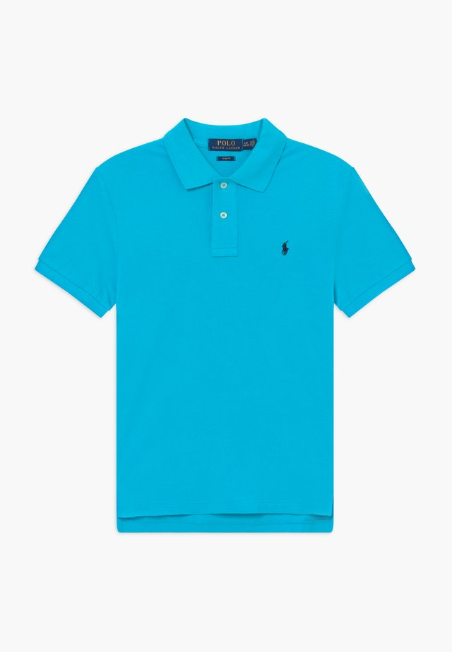 SLIM  - Polo - liquid blue