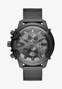 Diesel - GRIFFED - Zegarek chronograficzny - gunmetal - 0