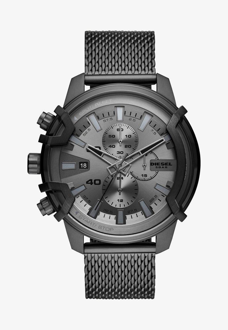 Diesel - GRIFFED - Zegarek chronograficzny - gunmetal