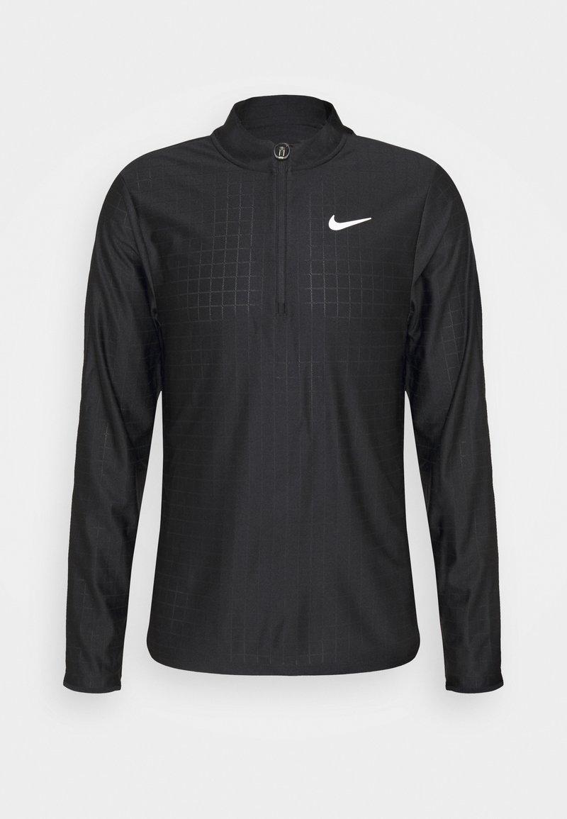 Nike Performance - Sports shirt - black/white