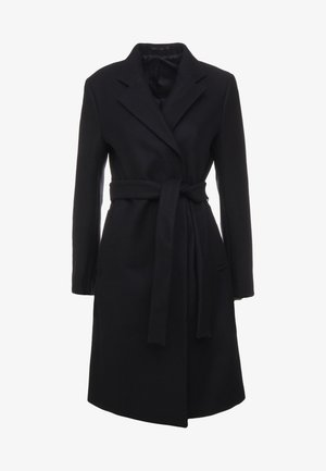 EDEN COAT - Villakangastakki - black