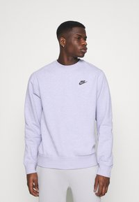 Nike Sportswear - CREW - Sweatshirt - purple chalk/smoke grey - 0