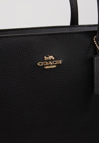 Coach - CENTRAL TOTE WITH ZIP - Tote bag - black - 6