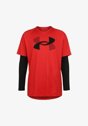 BIG - Print T-shirt - versa red