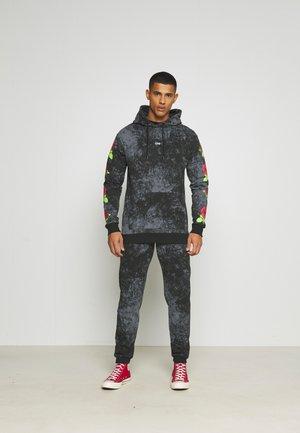 TIE DYE ROSE TRACKSUIT - Sweatshirt - black