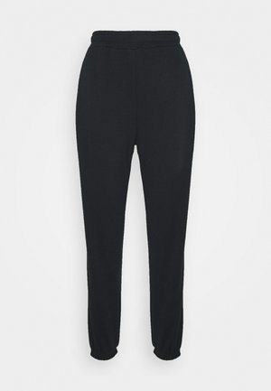 BASIC - Loose Fit Joggers - Tracksuit bottoms - black