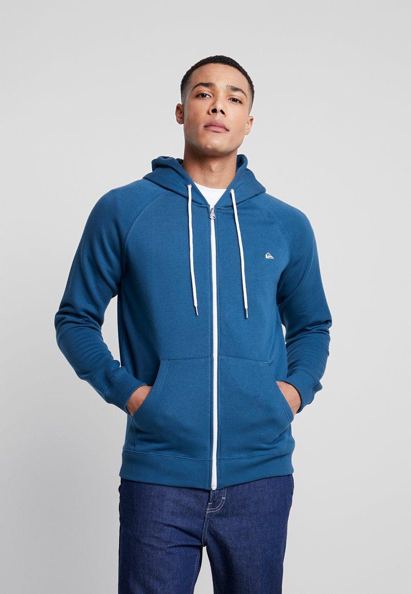 Quiksilver - EVERYDAYZIP - Zip-up sweatshirt - majolica blue