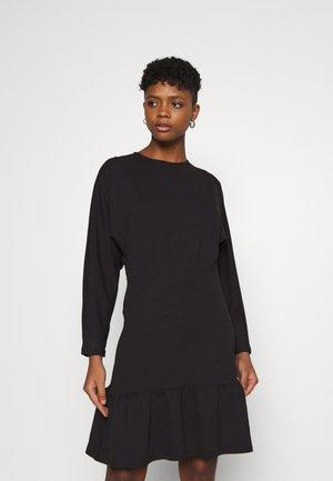 ELLEN DRESS - Trikoomekko - black