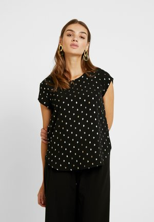 ONLVIC DETAIL  - Blouse - black/silver