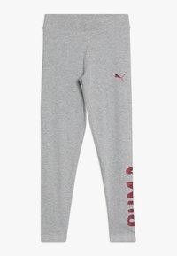 Puma - ALPHA - Leggings - Trousers - light gray heather - 0