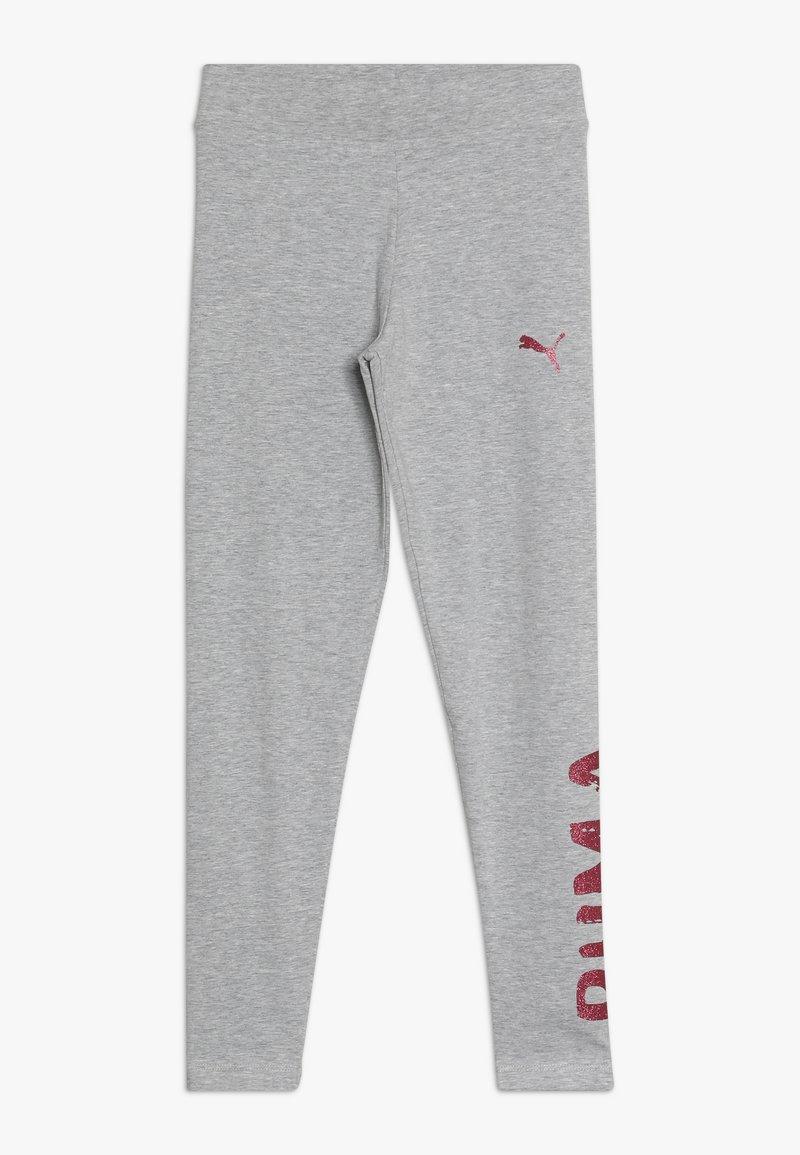 Puma - ALPHA - Leggings - Trousers - light gray heather
