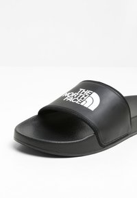 The North Face - BASE CAMP SLIDE II - Pool slides - black/white - 5