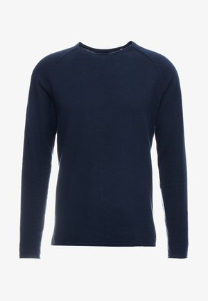 JJEUNION CREW NECK ESSENTIALS - Jumper - ensign blue/navy blazer