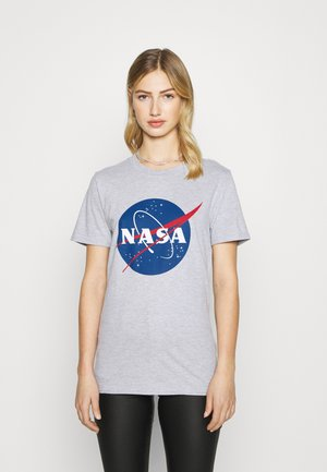NASA LICENCE GRAPHIC - Print T-shirt - grey