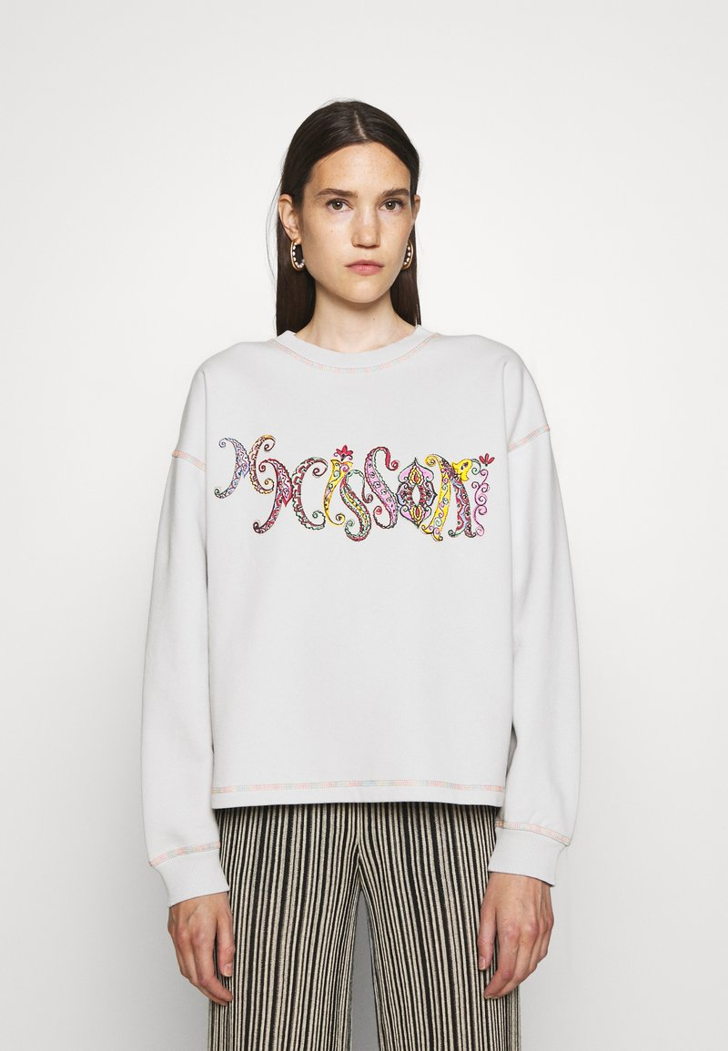 M Missoni - CREWNECK - Sweatshirt - glacier gray