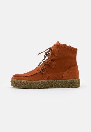 Ankle boots - light cognac