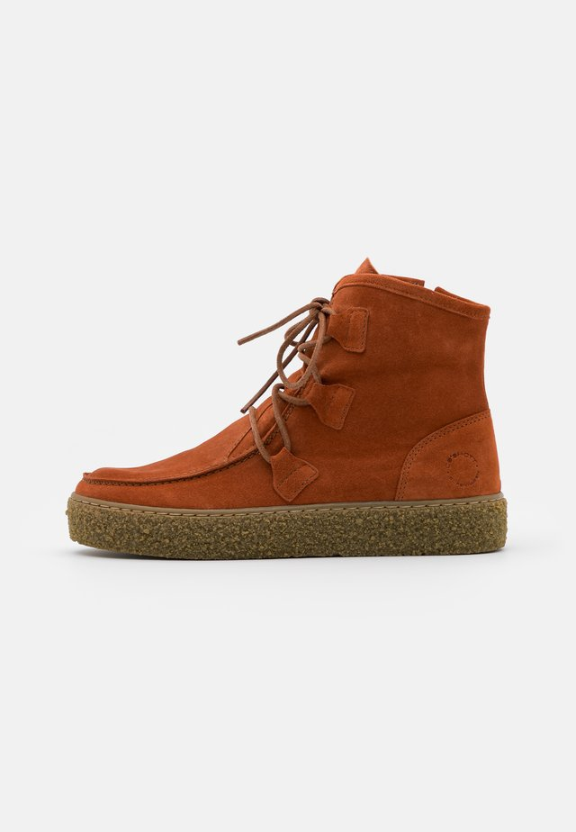 Ankle boot - light cognac