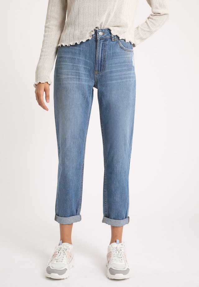 MOM - Straight leg jeans - jeansblau