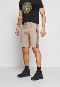 Glorious Gangsta - KALK - Spodnie treningowe - sand - 0