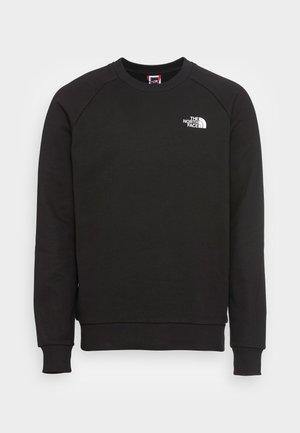 RAGLAN REDBOX CREW NEW  - Sweatshirt - black