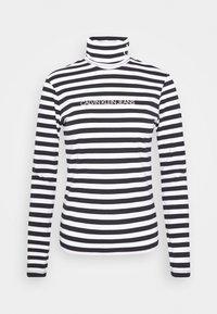 Calvin Klein Jeans - Long sleeved top - black/bright white - 6