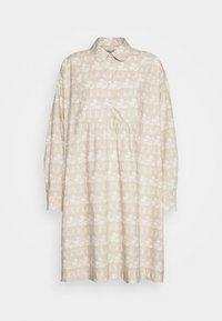 Wood Wood - JANICA DRESS - Sukienka koszulowa - beige - 4