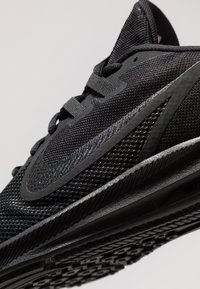 Nike Performance - DOWNSHIFTER  - Stabilty running shoes - black/anthracite - 5